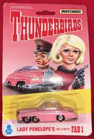 Thunderbirds: Lady Penelope's Rolls-Royce FAB 1 - Die-Cast Vehicle - Sealed on Card (B)